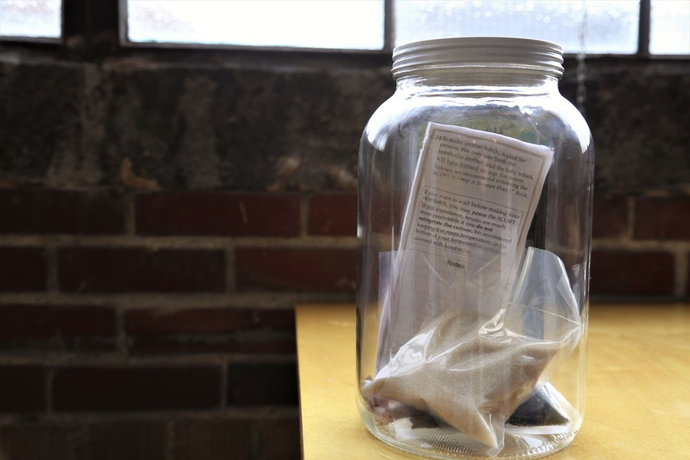 CommuniTea's DIY kombucha kit