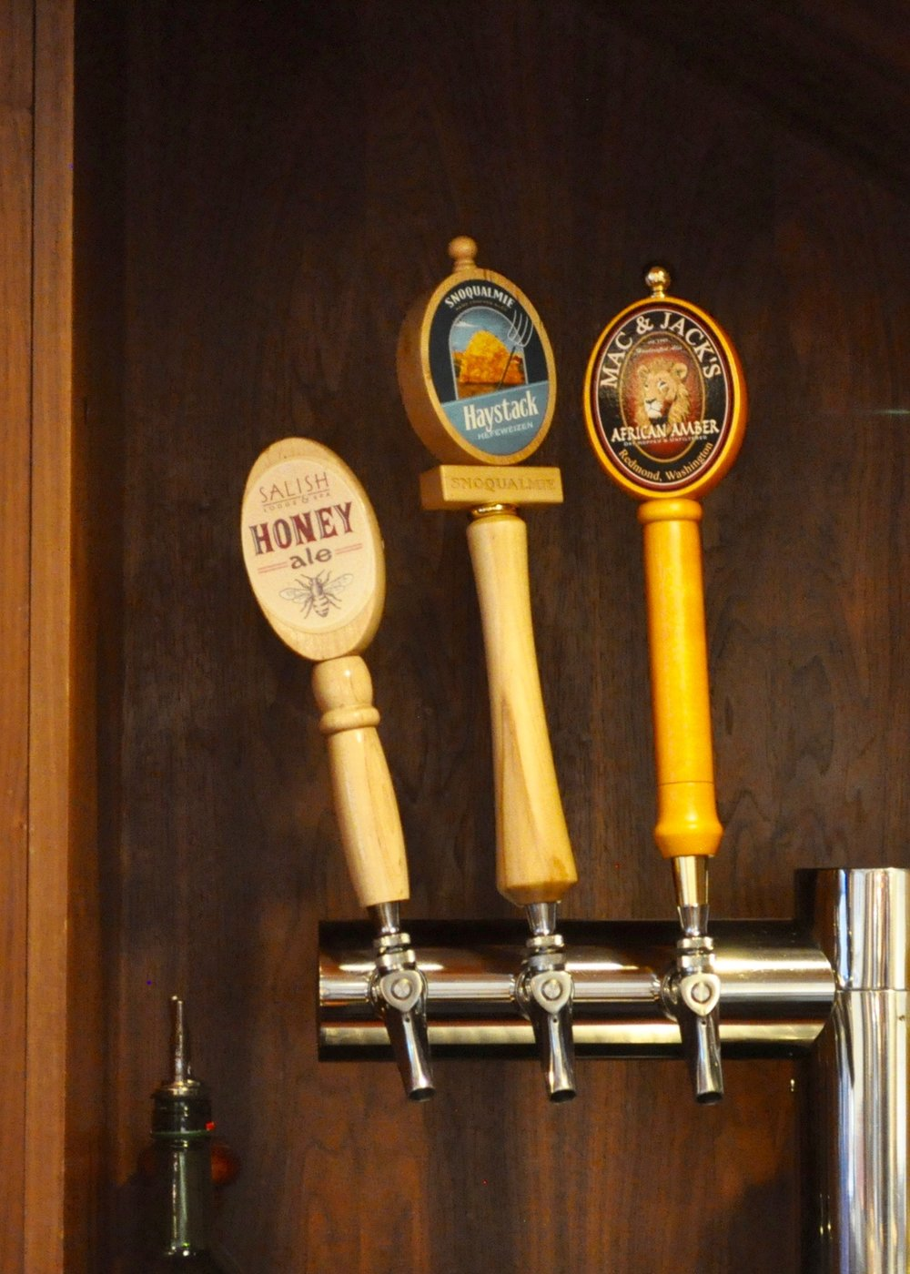 honey ale on tap at Salish Lodge