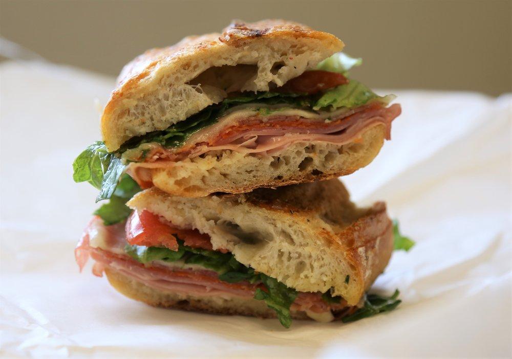 DeLaurenti's Grinder Sandwich