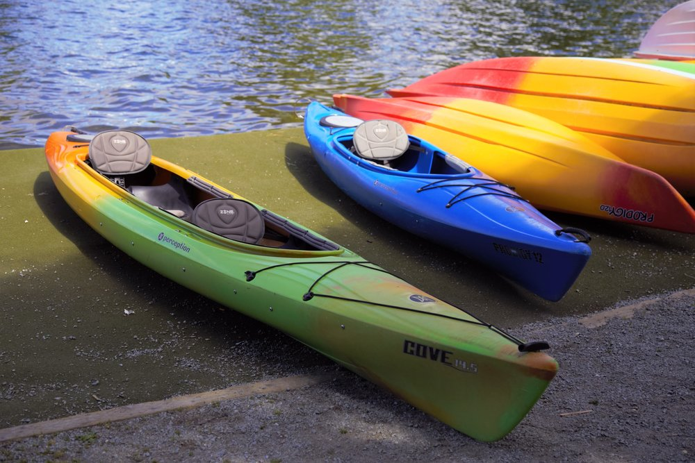 Boat rentals from the Boathouse
