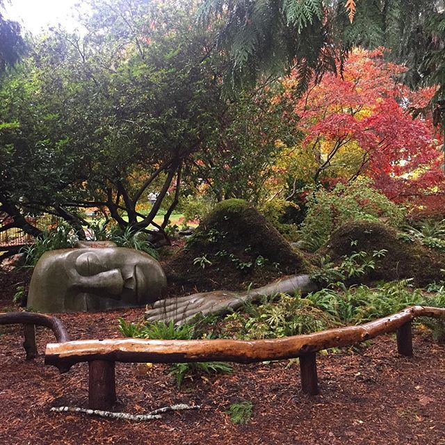 We wrote a little guide to Victoria B.C. today on the blog (including where to find this sleeping moss lady!) Link in profile!