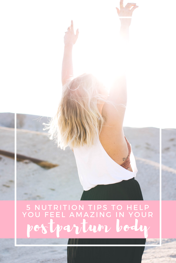 5 tips to help you feel amazing in your postpartum body | a workshop hosted by Cassandra of Vivfitness
