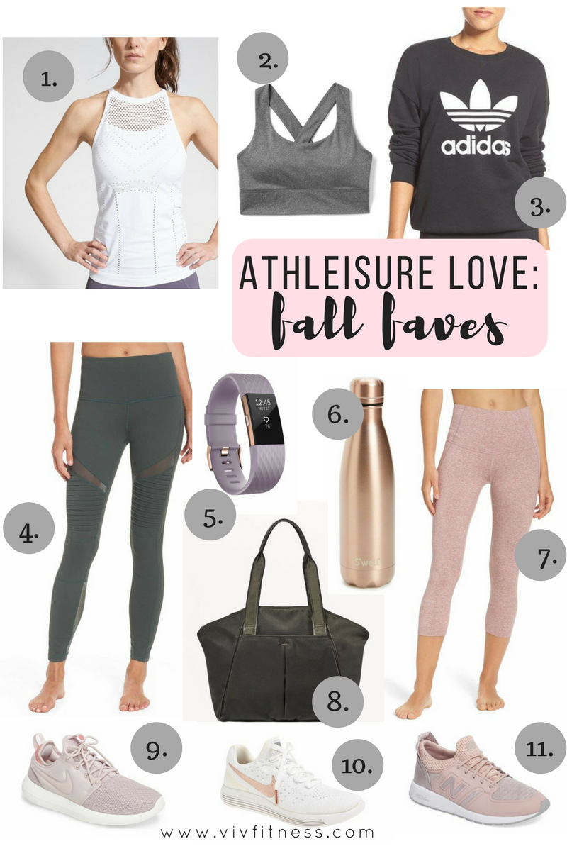 Fall Fashion: The best of athleisure. Cute and comfy style for the on the go mama