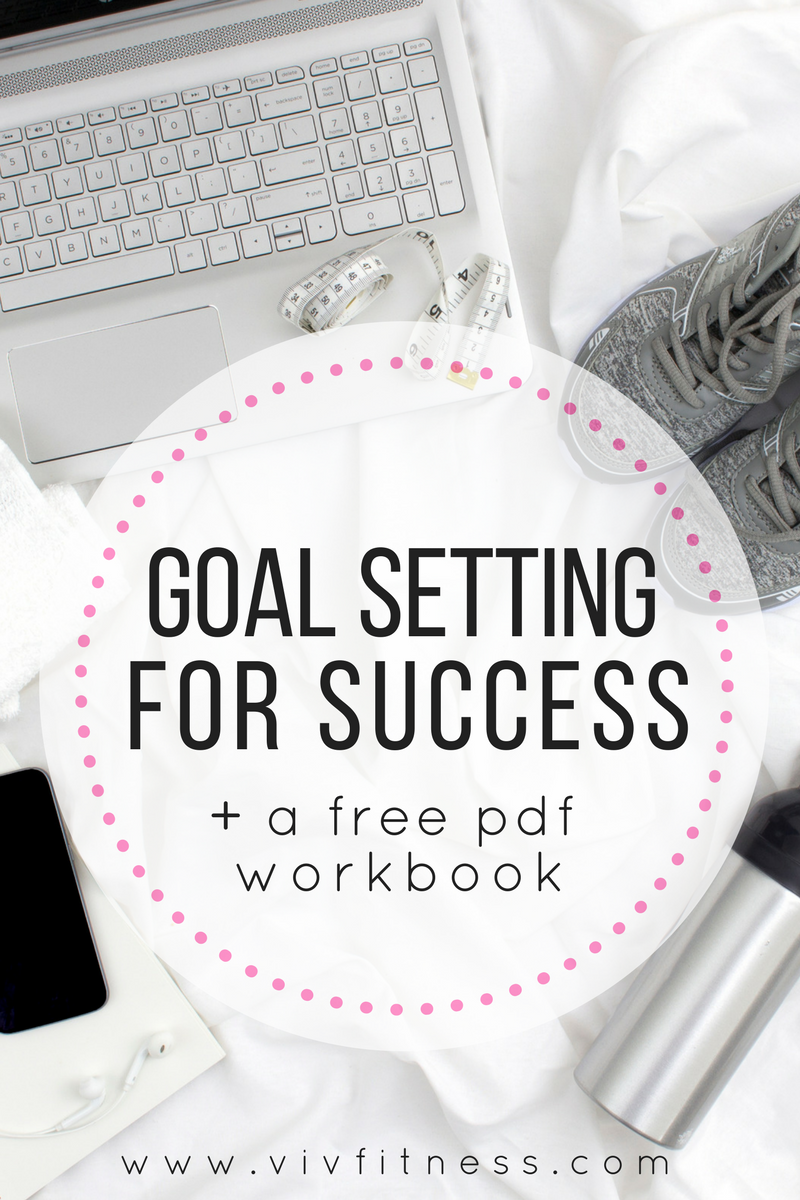 tips for setting goals AND how exactly to meet them. How to set goals you actually care about plus a free workbook!