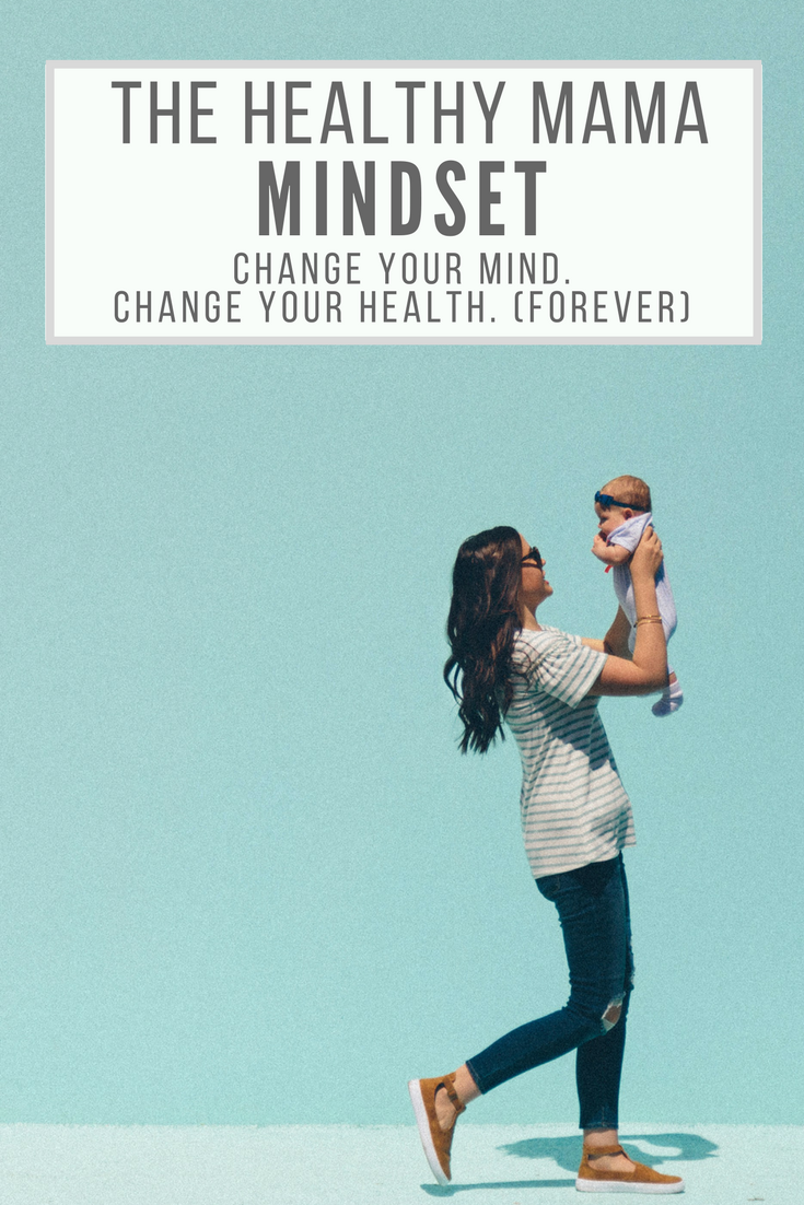 5 ways to improve your self-talk and self-love this week! Simple ways to change your mindset in order to improve your health. Get over your self-sabotaging mindset. Improve your health, lose weight, and be a happier mom!