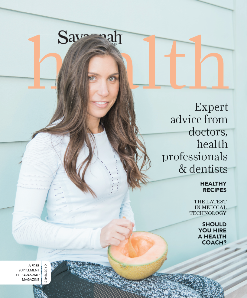 Savannah Health - Print (cover) - Savannah Magazine's Health Supplement2018-2019