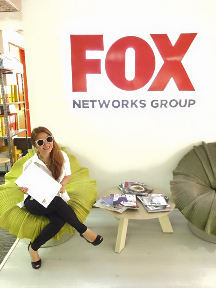 Fox International Channels (Philippines) recently signed Cheryl on for a TV show airing in 2017 about her eating adventures.