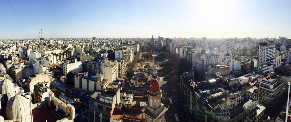 Buenos Aires. Picture taken by Caitlin Karna.