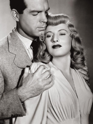 A publicity shot for  Double Indemnity