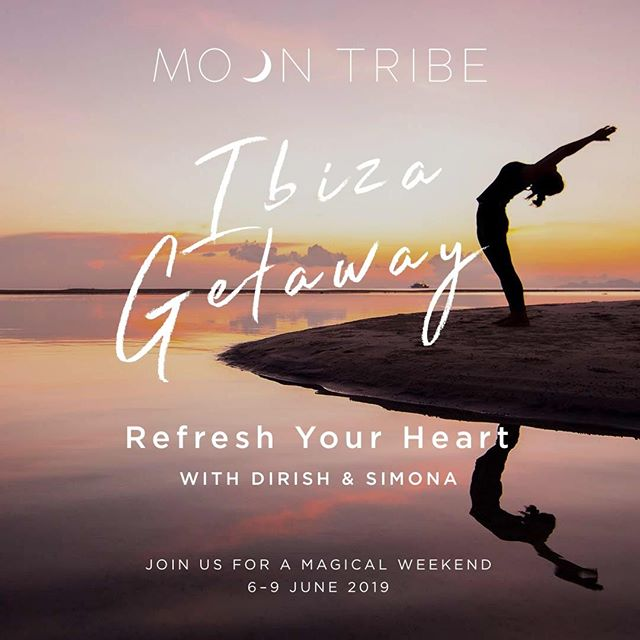 Moon family!  We are so excited to announce our very first Moon Tribe retreat in June - coming together with our tribe over a long weekend on the magical island of Ibiza! 🌊✨🌙 We will dive deep into some amazing practices from yoga to Shakti Dance and guided meditation – that will make you feel completely refreshed and alive!  Whether you are feeling stretched in too many directions or running at a high speed... You may not have the time you need to be with yourself and to be reminded what truly matters to you. This is your opportunity to get away from it all and slow down, enjoy life and have some time out under the sun by the beach.  We have created the Ibiza Getaway to reconnect more deeply to ourselves and come together with our Tribe. Dirish and Simona will support you to find more clarity on your direction and what you are creating moving forwards in your life. ~ ~ ~  POWERFUL PRACTICES offered by Dirish and Simona: ✨Daily yoga classes (Vinyasa Flow & Yin) to get our energy flowing ✨Shakti Dance to free our expression ✨Authentic Relating to share with each other on a deeper level ✨Shaking to release old blocks that are not serving us ✨Meditations to connect with ourselves and our inner wisdom ✨Breathwork to amplify our creativity ✨Moon Manifesting Ritual to manifest our heart's desires ~ ~ ~  We have designed this retreat to open up only 10 spaces for this intimate experience of a lifetime. Book your space today.  PRICES: From €590 / £520  Early Bird offer – book before the new moon on 5th April! From €560 / £490 for Early birds  INFO & BOOKING: http://www.moontribe.co.uk/events (link in bio)  Email us at info@moontribe.co.uk for details and to book your space. ~ ~ ~ ☀️✨🐬 We can't wait to come together in Ibiza with you!! .  #moontribe #ibizagetaway . #awakening #highvibes #consciouslife #sacredspace #moonwisdom #modernmystic #crystalmagic #alifeofintention #earthchild #liveyourtruth #moonmagic #moon #moongoddess #ibiza #magictribe #moonvibes #spirituallife #yogalife #yogateacher #yogalondon #highvibetribe #yogainspiration #yogini #tribe #selfcare #radicalselflove #highvibe . . . ↡↡↡