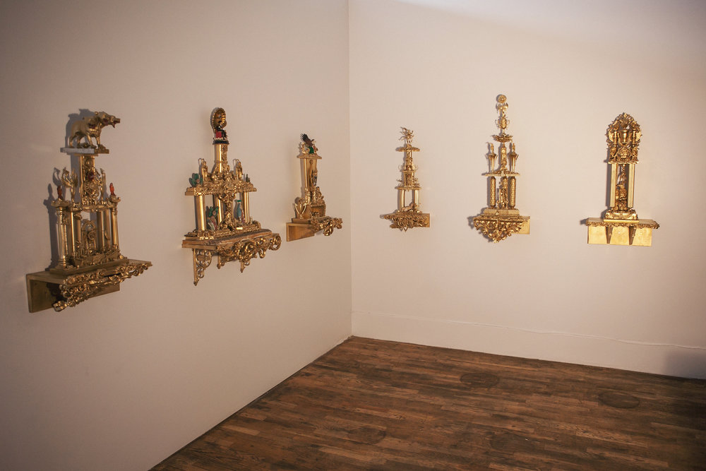 Cartel Trophies  Gallery View, Leon Gallery, Denver, Colorado  2016