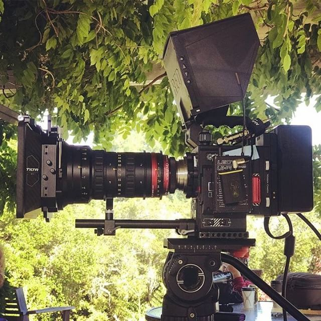 The Red Epic-W with the Optimo Style lens from @angenieuxlenses has been a great new setup for our team and our clients love it too! Can't wait for the Helium censor upgrade to come back 🤩 . . . #r3d #angenieux #filmmaking #gearedup #redcamerashoot