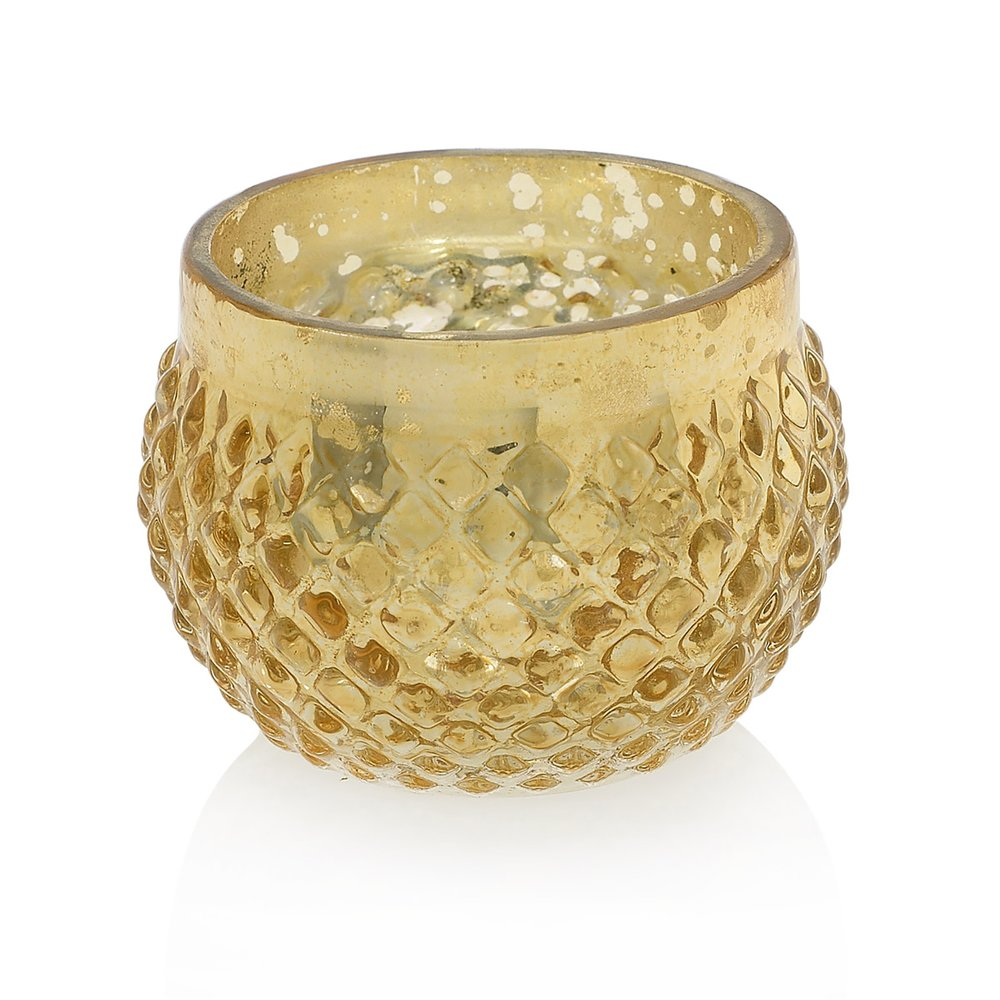 Gold Votive  55 Available / $4 ea.