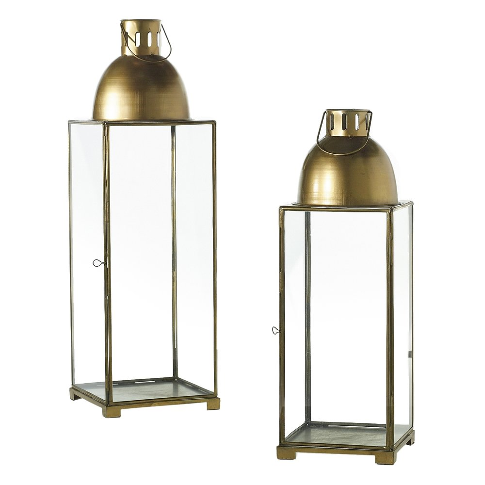 "Gold Lanterns 18""-24""  2 Available / $25 ea."