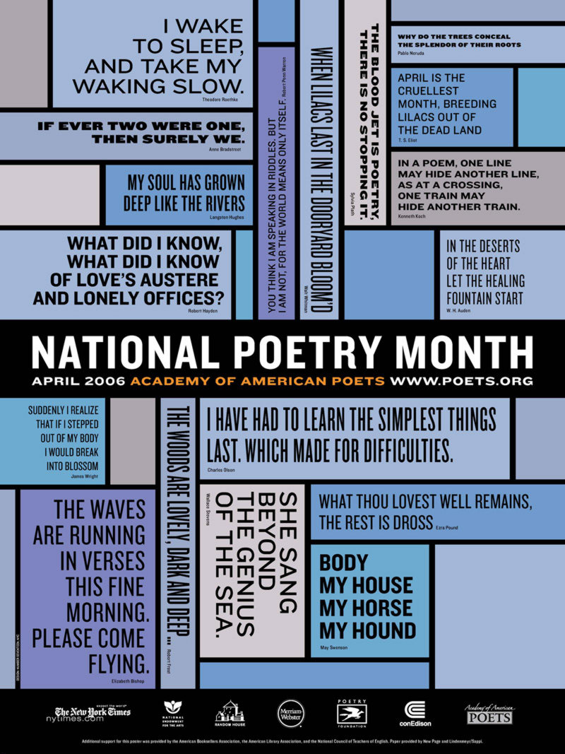2006 National Poetry Month Poster