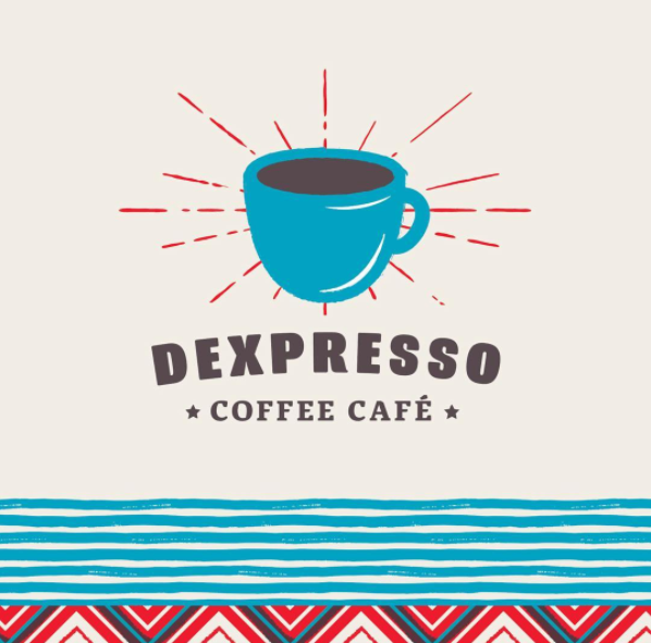 Logo for Dexpresso Coffee Cafe | Avery Enderle Wagner