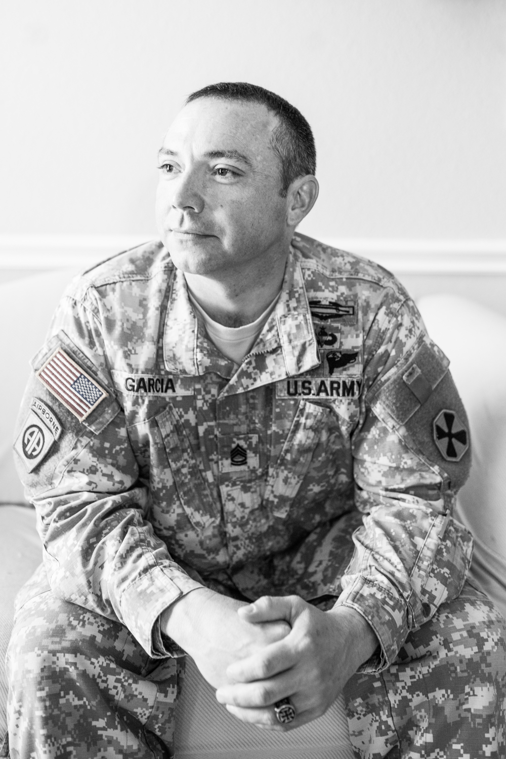 sfc jeremy garcia army operation i dom operation what keeps you cool in your civilian life what are some of the things you enjoy that are now therapeutic