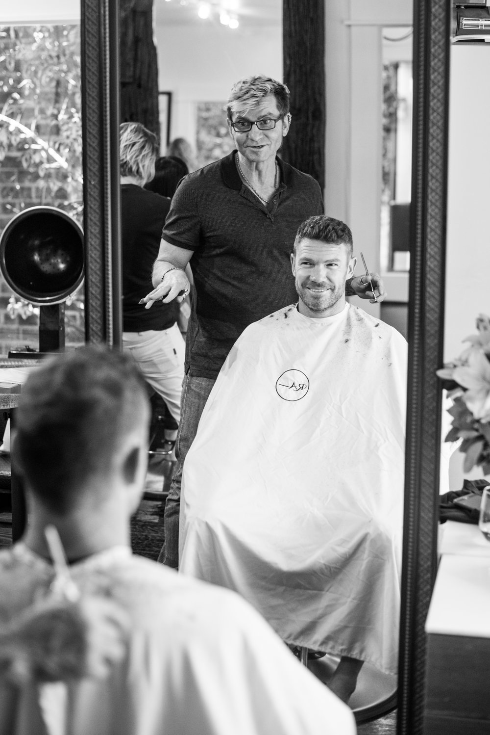 Michael John (Ra) is a hair stylist that started Makeovers that Matter, a charity that gives makeovers to homeless, female veterans.
