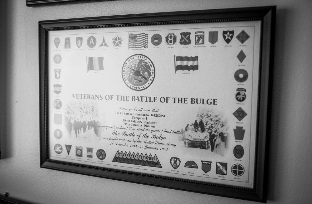 e55e2548 LTC Sam Lombardo (Army, WWII Veteran) — The Veterans Project