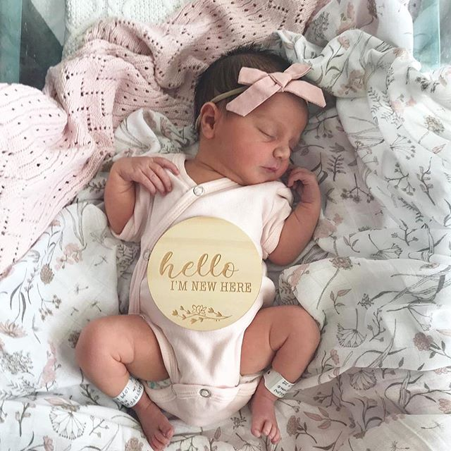 So I've been growing a little rosebud for the last nine months... Introducing our newest assistant, little miss fleuriste! @littlemissfleuriste   💗 ~ Ella-Rose ~ surprising us 3.5 weeks early on Sat 16th March at 7:04pm, weighing a tiny 2.6kg   She has filled our hearts with happiness and a love like no other...xx   🌸 I'll be taking a little time out of the studio to enjoy these precious newborn moments ~ however still accepting bookings for after September 2019 ~ and will be responding to enquiries... My response times may just be a little slower than usual whilst we get to know each other, so I am very grateful for your patience during this special time...xx