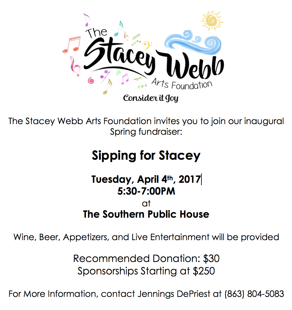 Click here for tickets:  https://www.eventbrite.com/e/sipping-for-stacey-tickets-33209727188
