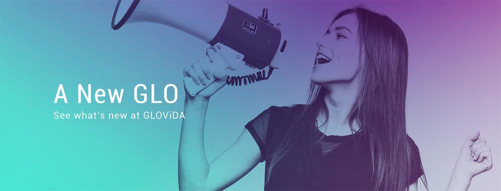 GLOVIDA Art direction & website banner