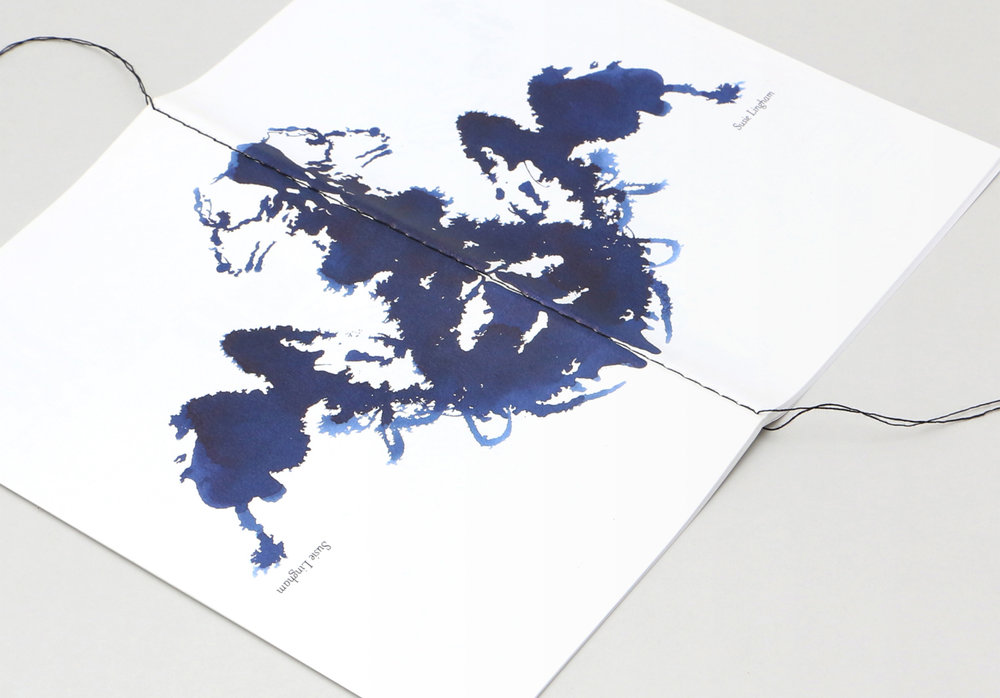 SUSIE LINGHAM Artist's booklet.