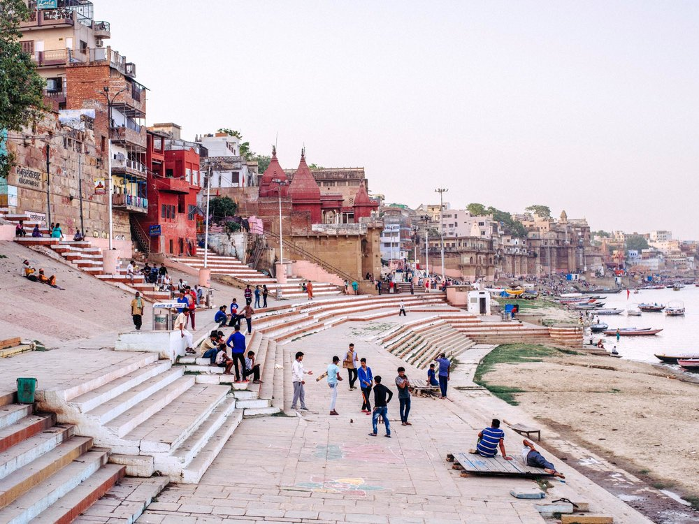 A selection of photographs from Varanasi, India taken in 2018.