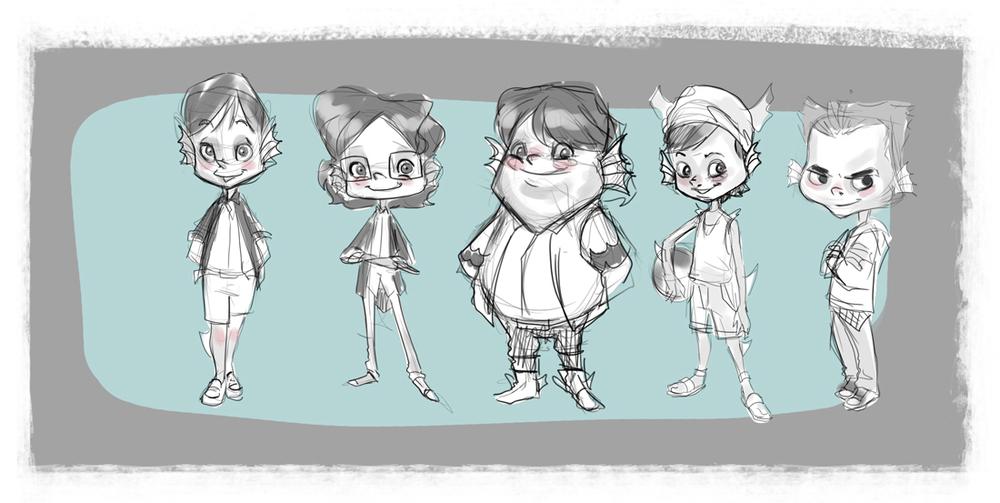 Animation Character Design Portfolio : Character design u frandel