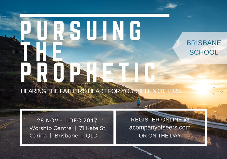 Pursing the Prophetic, Brisbane 2017