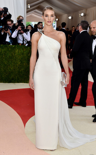 Rosie Huntington-Whiteley stuns in Ralph Lauren