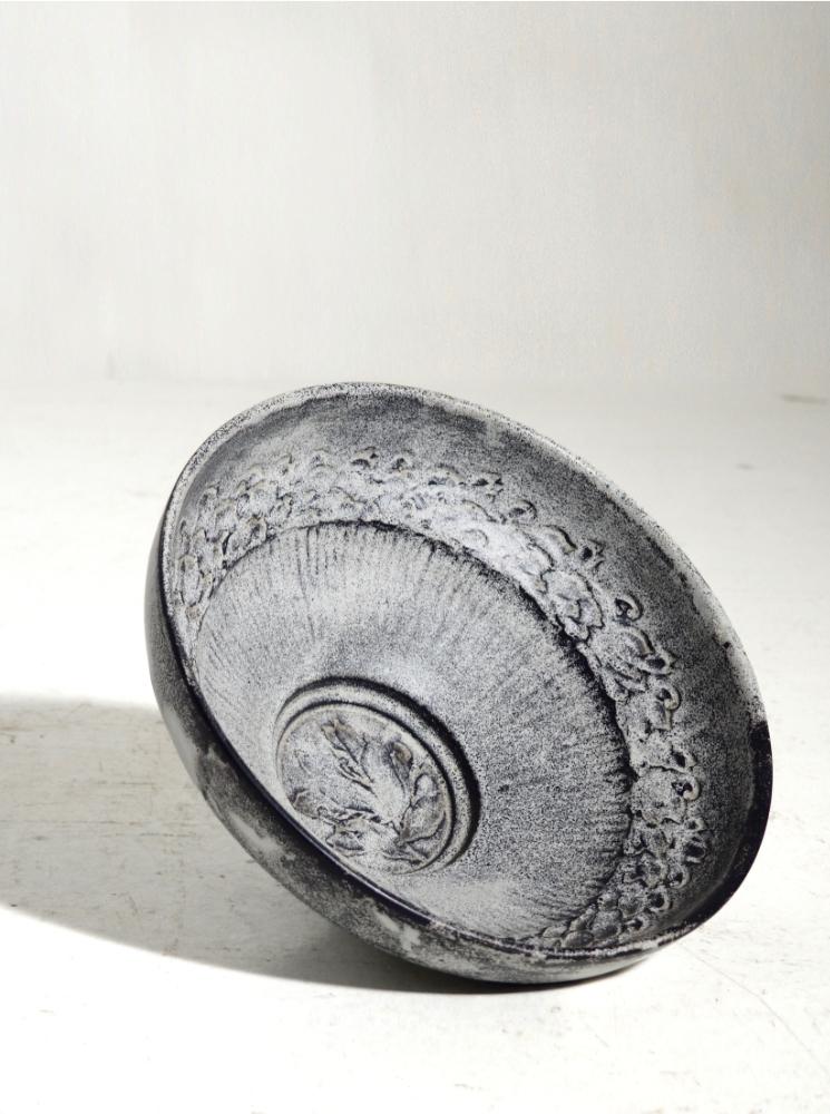 Important Ceramic Bowl by Sven Hammershøj