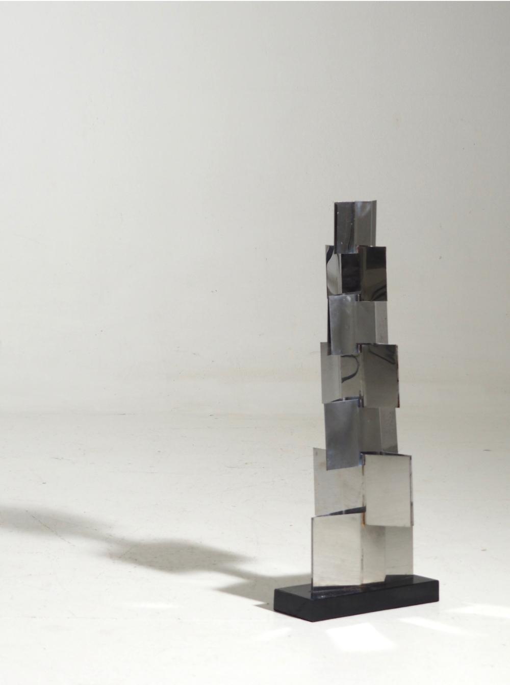 Stainless steel sculpture, Circa 1930 - 1960.