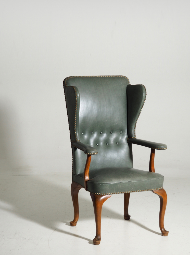 Wingback Chair, attributed to Frits Henningsen