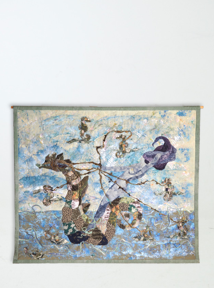 Tapestry signed by Rita Mortensen
