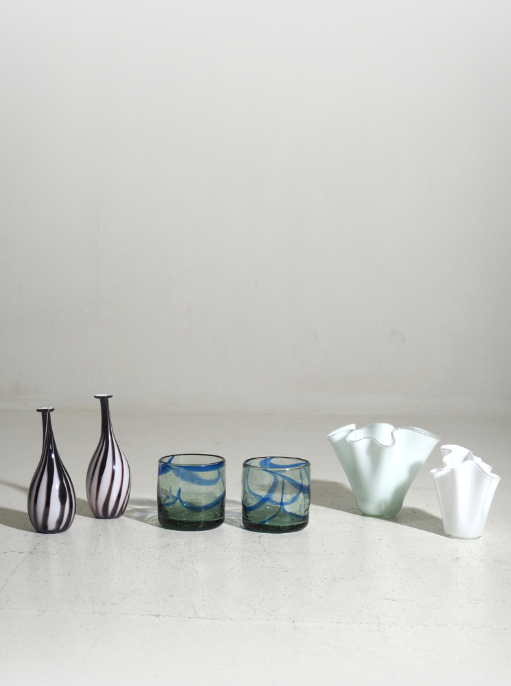 Six vases properly from Finland, 1950 - 80's