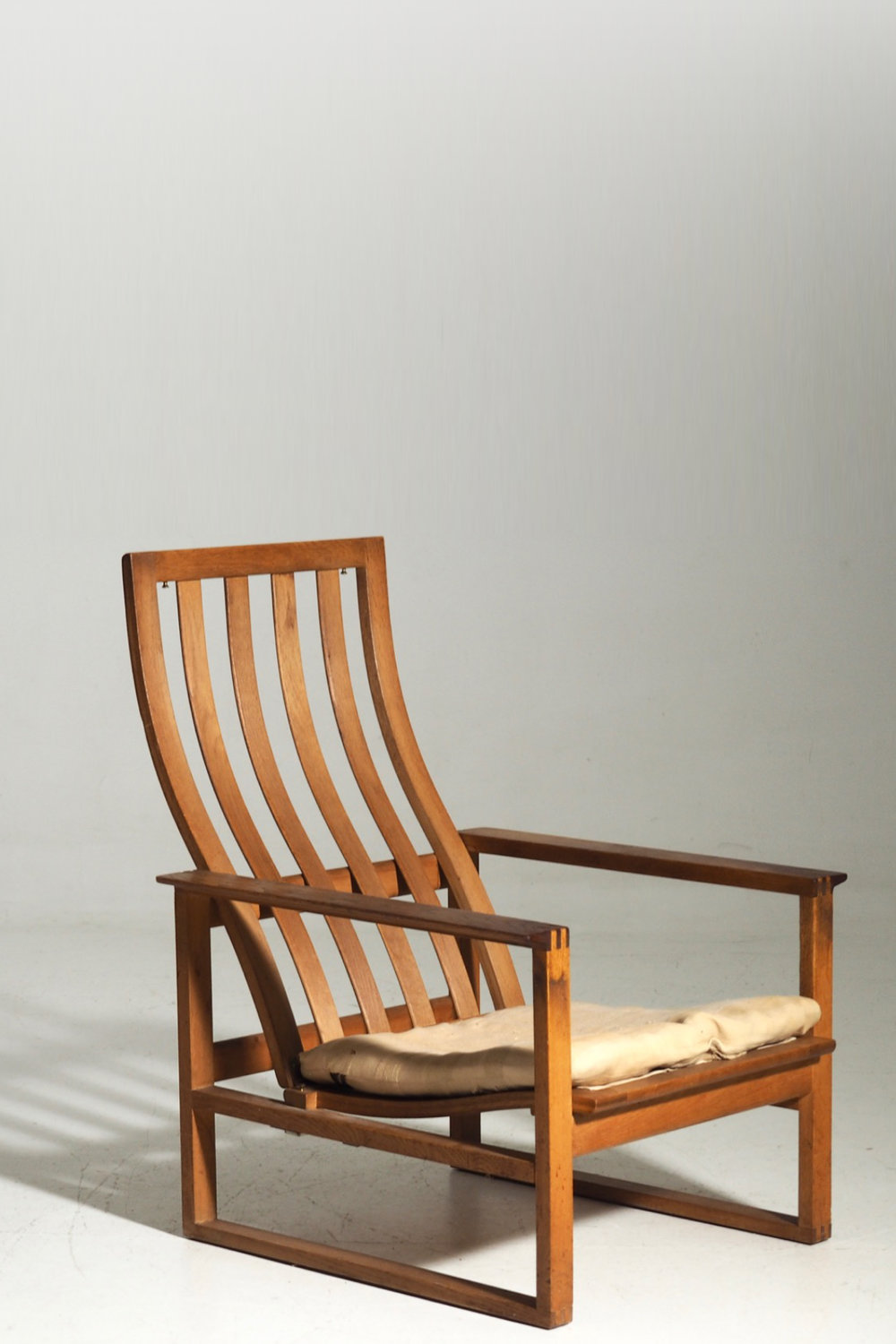 Fine and rare chair by Børge Mogensen, 60´s