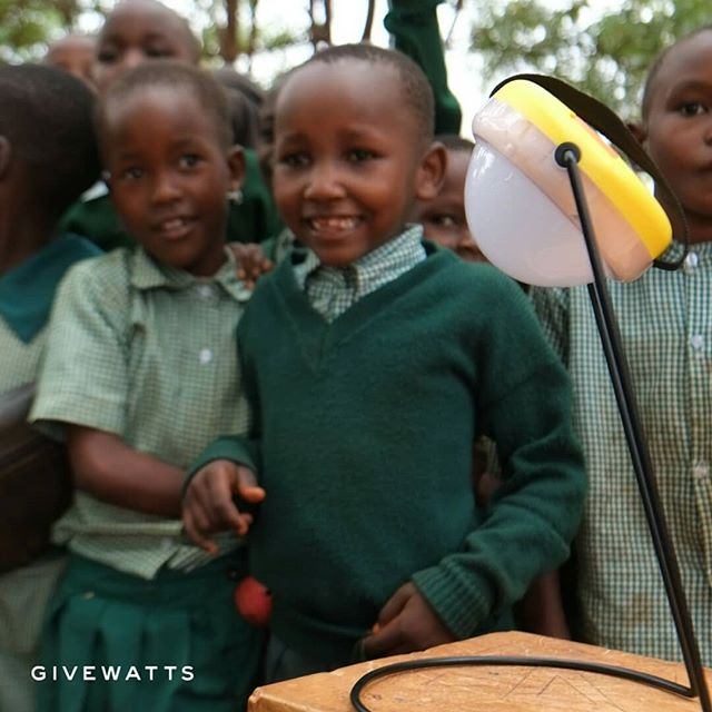 Children need all the essential tools to reach their full capacity. For many children without proper lighting facilities for reading, a solar lamp can make a world of a difference.  #impact #education #empoweringchildren #future #Africa