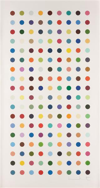 Damien Hirst, Methamphetamine, 2004