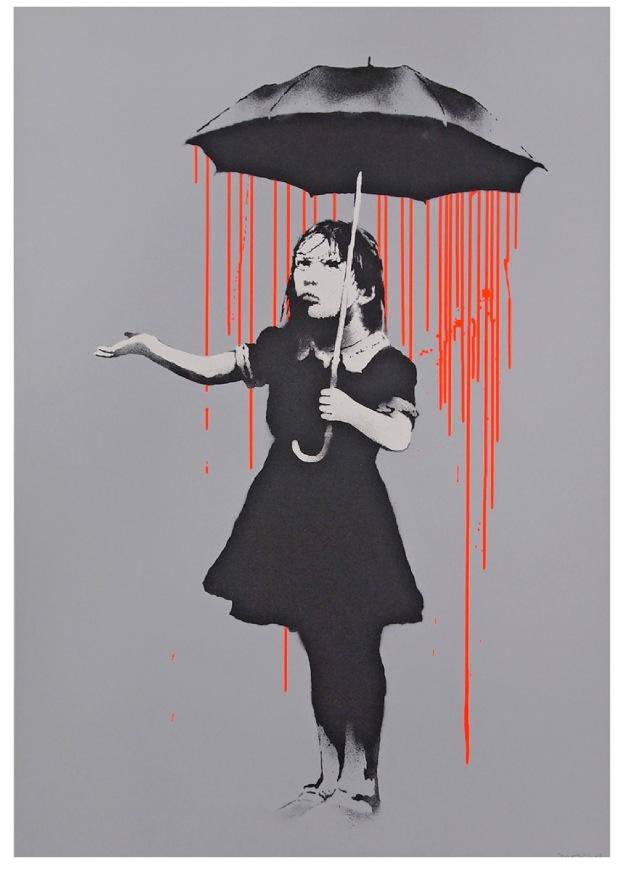 Banksy, Nola, 2008