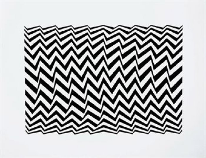 Bridget Riley, Untitled Fragment 3, 1965