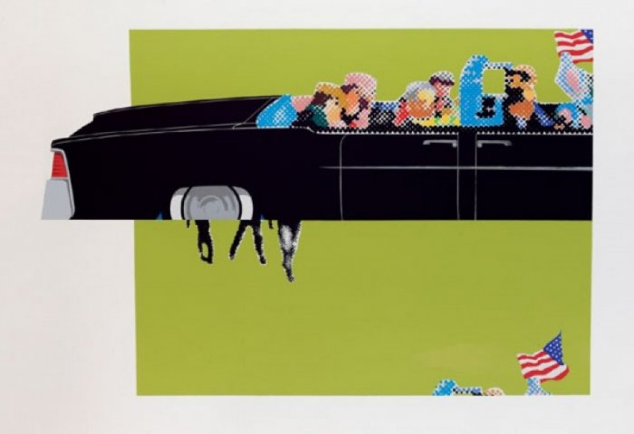 Gerald Laing, Lincoln Convertible, 2007