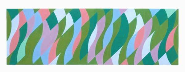 Bridget Riley, Passing By, 2005
