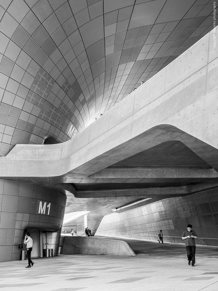 Dongdaemun Design Plaza, Zaha Hadid