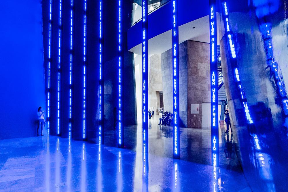 "Jenny Holzer ""Installation for Bilbao"" - Guggenheim, Bilbao"