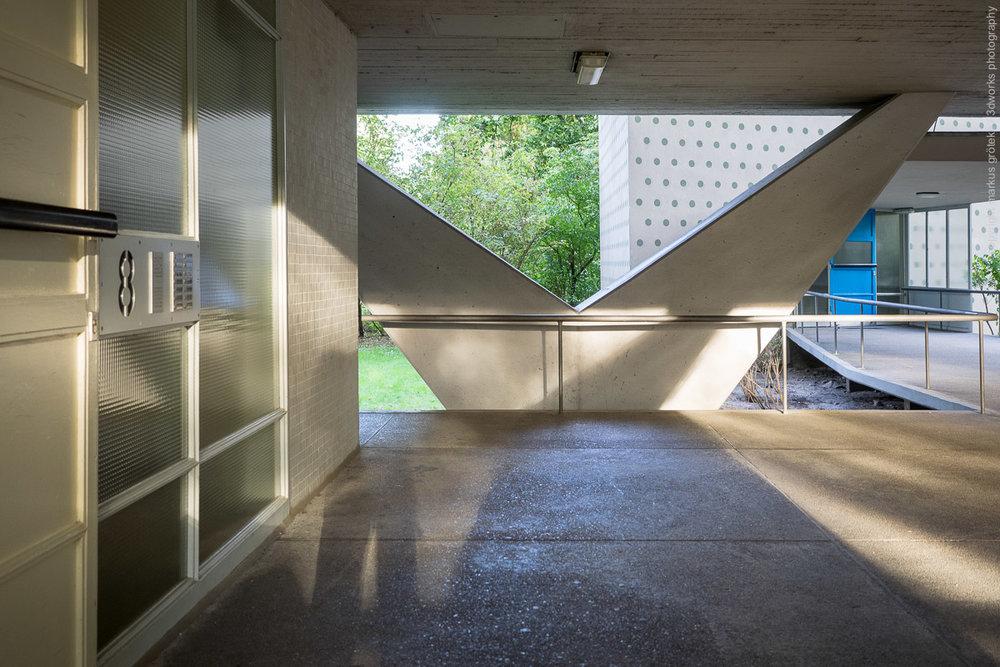 Architekturfotografie / Hansaviertel Berlin / Foto: Markus Gröteke / architecureshooting