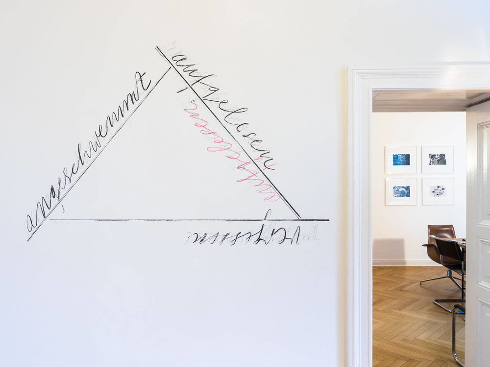 Wall drawing, Lothar Baumgarten - Antiquariat Marco Gietmann, Berlin