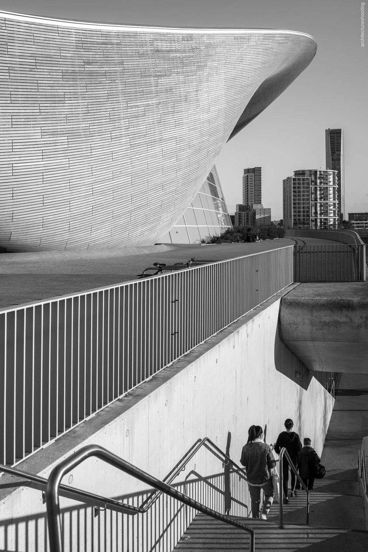 Aquatics Centre London, Zaha Hadid