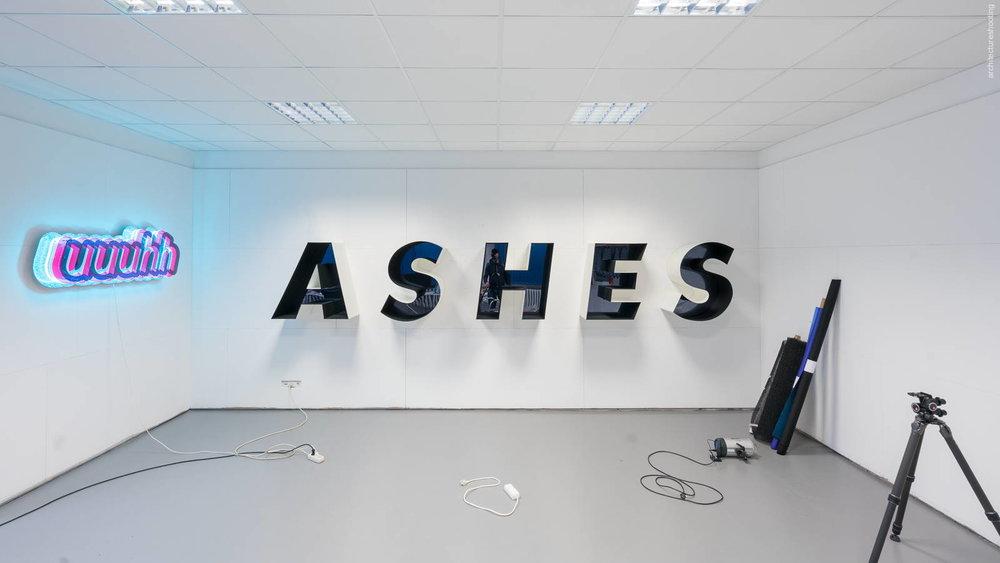 """Pietro Sanguineti, """"uuuhh"""" / """"ASHES"""" - Studio Sanguineti, Berlin"""