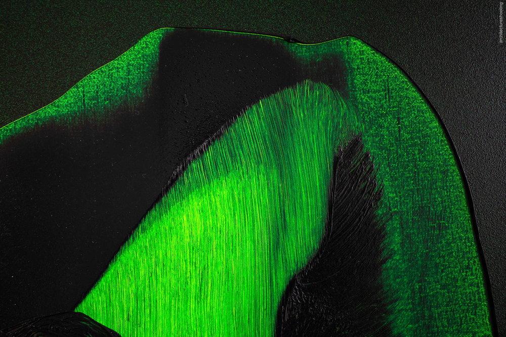 """Daniel Lergon, """"angeregt"""", 2018, Closeup - Antiquariat Marco Gietmann, Berlin"""